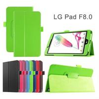 Folding PU Leather Case For LG G pad Gpad F 8.0 Tablet Stand Cover Protector Pouch