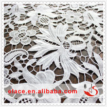 Charming fascinating white lace ladies tops most hot and beautiful fashion nylon lace fabric