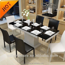 used dinning room table and chairs mdf wooden and glass dinning table set