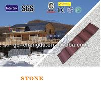 Waterproof Building Materials Stone Coating Roof Sheet / Roofing Tiles