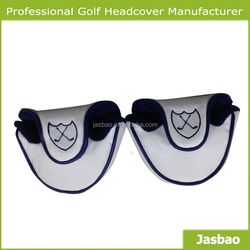 2015 Wholesale Magnetic Mallet Golf Putter Head Cover with Eembroidery