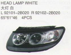 AUTO PARTS AND CAR ACCESSORIES &CAR BODY PARTS head lamps FOR HYUNDAI NEW SANTAFE 2007 2006 2008 2009 2010