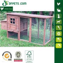 DFPets DFC009T Wood Broiler Chicken Coop