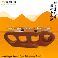 Hitachi excavator track link chains parts/ track link assembly for ex100