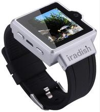 4 colores 2G Bluetooth muñeca reloj teléfono inteligente (Dual CPU WIFI GPS inteligente Watch)