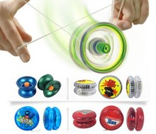 Plastic yoyo ball with light or music new porn printed logo toys