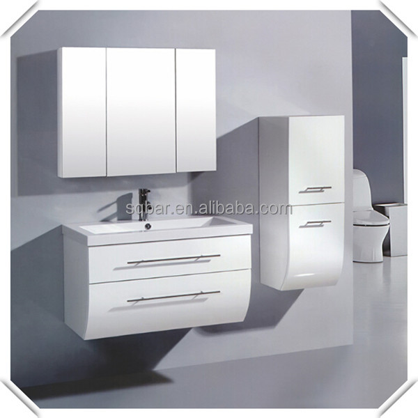 Sqbar Double Cabinet Polygon Mdf Bathroom Vanity With Resin Basin Buy Bat