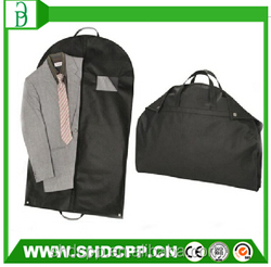 high quality non woven foldable garment bag for packaging