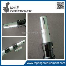 "Silver 7-12 Foot Adjustable Height Telescoping Upright - 2"" Diameter"