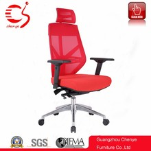 Luxury Swivel Mesh Executive PC Computer Desk Red Office Chair