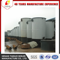 Wood /rice hull /sawdust fired thermal oil boiler
