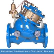 Yq20001-16 / 25Q давление воды редукционный клапан регулировка, DN 40 - 1200 мм