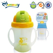 New Design Baby sippy cup with straw