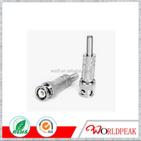 HOT SALE nickel plated F female type connector to 2 F female adapter