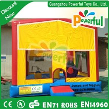 small inflatable indoor bouncer/inflatable bouncer with basketball hoop/small inflatable bouncer