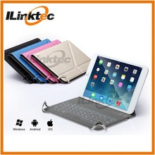 "Ultra-thin 7.9"" PU leather Bluetooth keyboard case cover for ipad mini"