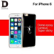 for iphone 6 PU epoxy gel protective case