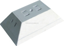 UL Listed 4 outlet 3-side current Tap wall tap