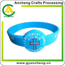 free design love silicone bracelet ali express for corporate gifts