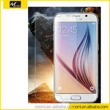 Promotion price real material 9H hardness straight glass tempered glass screen protector for GALAXY S6 G9200/ G9208/G9209