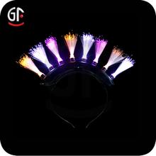 Rainbow LED Mohawk Headband