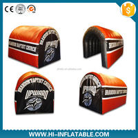 Fantasty Inflatable sport Tunnel/Inflatable football helmet tunnel /inflatable football tunnel tent