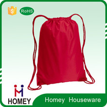 Factory Price Promotional Custom Waterproof Polyester Cheap Drawstring Shoes Bag