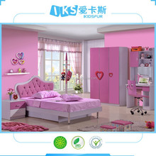 2015 newest panel colorful funny kids bedroom furniture 8101B