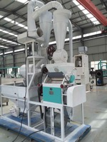 Factory supply corn and wheat flour miller production line