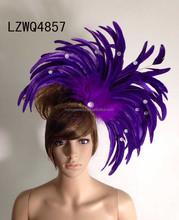 Feather Native Indian Flower headbands LZWQ4857