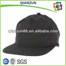 Sales Promotion Hats/Black Nylon 5 Panel Hats/Custom Printing Snapback Hat
