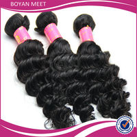 3A 100% Deep Wave Cheap Indian Pink Tag Human Hair Weaving Extension