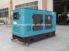 silencioso eléctrico del sistema generador de energía genset poder silencioso generador diesel 45 kva gerador diesel