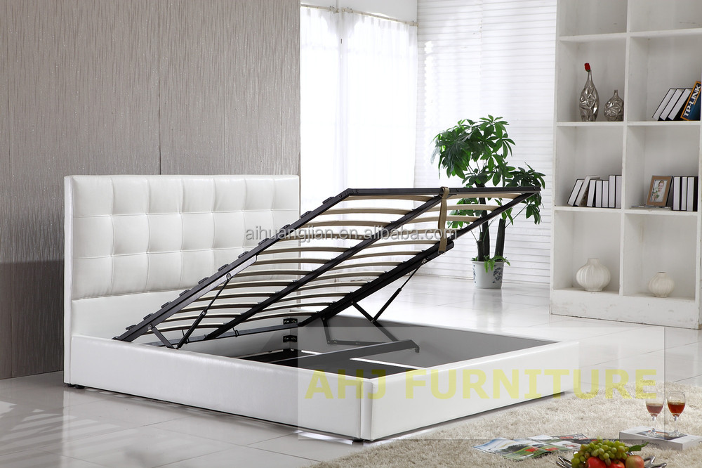 Wood Storage Bed Hydraulic Lift : Hydraulic storage bed double with lift