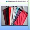 2015 micro fiber 100 polyester soften fabric pouches