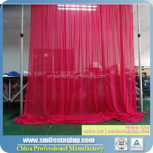 Used pipe and drape for sale, flower backdrop, backdrop fabric sequin