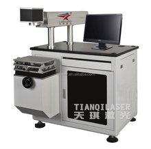 Láser de fibra máquina de la marca para electrónica componente