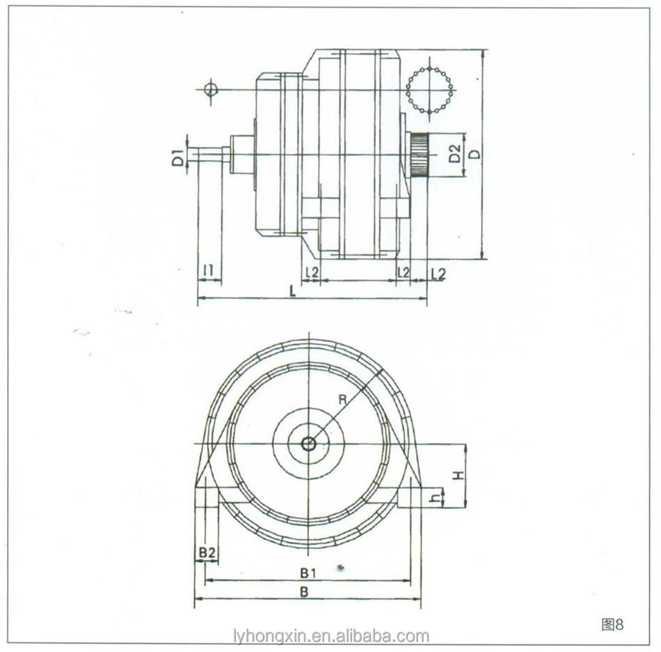 high quality helical gear motor reducer