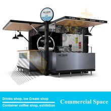 2015 cold drinks shop creative design,Mobile container drinks shop
