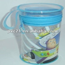2012 new fashion style pvc Golf ball packaging bag