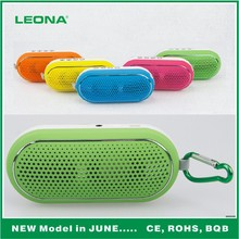 bluetooth mini speaker with hoker good for outdoor, bluetooth speaker and sports speaker