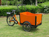 CE approved cheap eec trike 3 wheel tricycl/opened electric tricycle/popular bakfiets