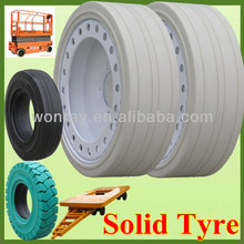 Top Seller Non Marking 4.00x8 Small Solid Rubber Tires and Wheels With Good Price