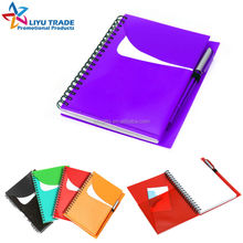 promotional spiral pp Groovy notepad and pen