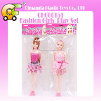 """11.5"""" solid body bendable fashion doll 2 models"""