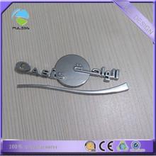 Custom design ABS chromed car emblem car wheel hub cap car logo