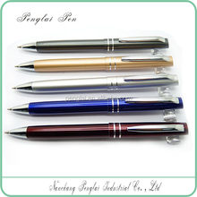 Best Price TWIST Promotional Advertising shaped quality promotional pen aluminum