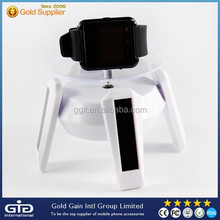 Spaceship Designed Solar Power Rotating Stand Advertising Display