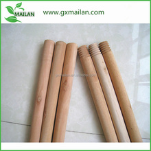 Wooden mop stick mop handle with natural wood material