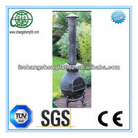 Outdoor Deck or Patio Firehouse Fire Pit Fireplace clay chiminea